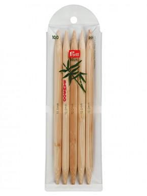 Bamboo Knitting Needles 10mm 20cm