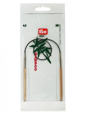 Bambus Rundstokkur 4mm 40cm