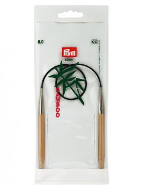 Bambus Rundstokkur 6mm 40cm