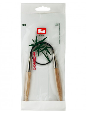 Bambus Rundstokkur 9mm 40cm