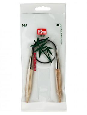 Bambus Strikkepinde 10mm 40cm