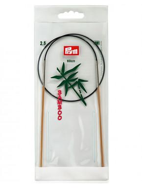 Bambus Rundstokkur 2,5mm 60cm