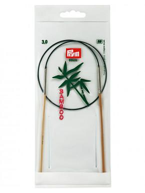 Bambus Strikkepinde 3mm 60cm