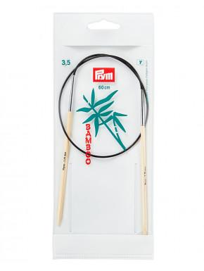 Bambus Rundstokkur 3,5mm 60cm