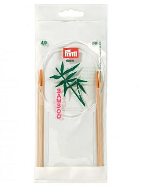 Bambus Strikkepinde 4mm 60cm