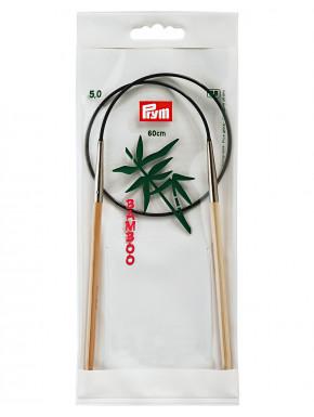Bambus Strikkepinde 5mm 60cm