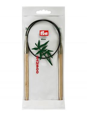 Bambus Rundstokkur 7mm 60cm