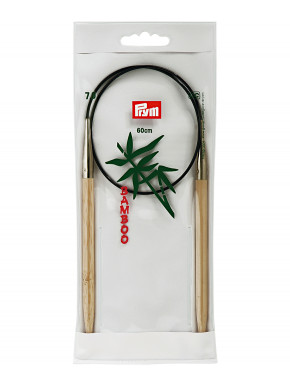 Bambus Strikkepinde 7mm 60cm
