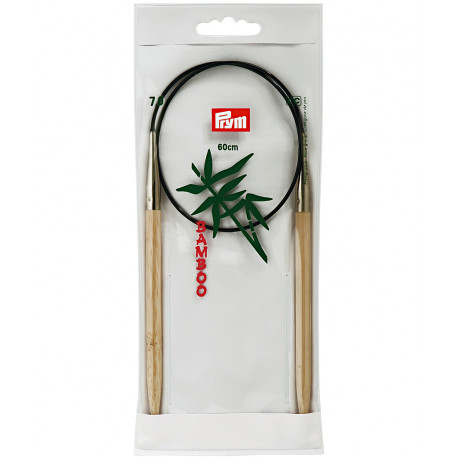 Bamboo Circular Knitting Needles 7mm 60cm
