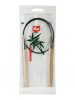 Bambus Strikkepinde 9mm 60cm