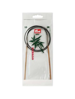 Bambus Strikkepinde 2,5mm 80cm