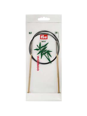Bambus Rundstokkur 3mm 80cm
