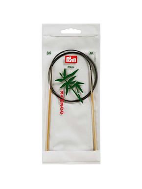 Bamboo Circular Knitting Needles 3,5mm 80cm