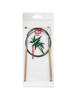 Bambus Strikkepinde 4mm 80cm