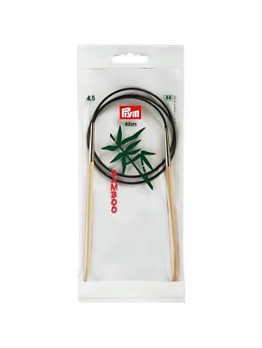 Bambus Rundstokkur 4,5mm 80cm