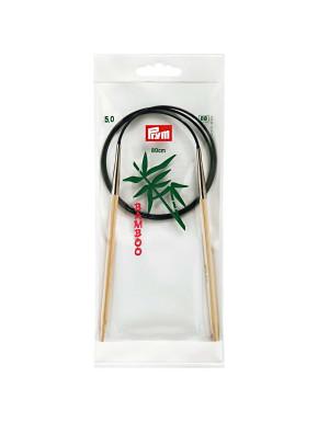 Bamboo Circular Knitting Needles 5mm 80cm