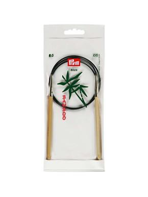 Bambus Strikkepinde 6mm 80cm
