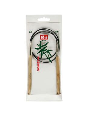 Bambus Rundstokkur 7mm 80cm
