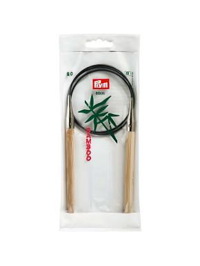 Bambus Strikkepinde 9mm 80cm