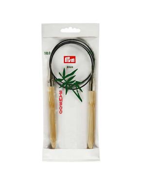 Bamboo Circular Knitting Needles 10mm 80cm