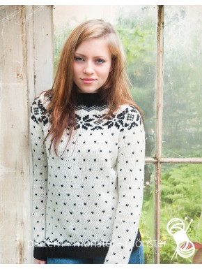 Sweater With Star Pattern