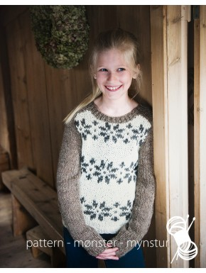 Girl's Sweater with Stars