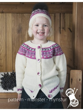 Girl's Cardigan and Hat