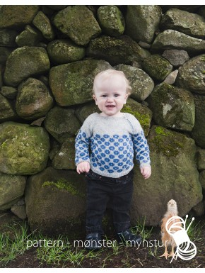Patterned Sweater for Children