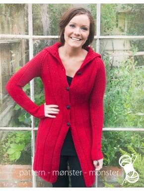 Rød frakke