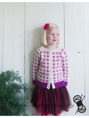 Patterned Cardigan for Girls