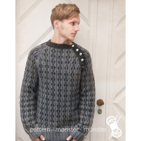 Men´s Sweater with Buttons
