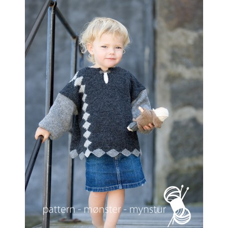 """Dragetand"" børnesweater"