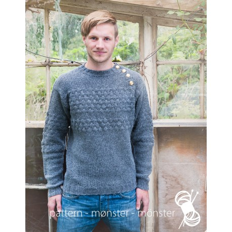 Men´s Sweater With Seamans Pattern