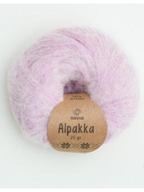 Alpakka pastel ljósareytt