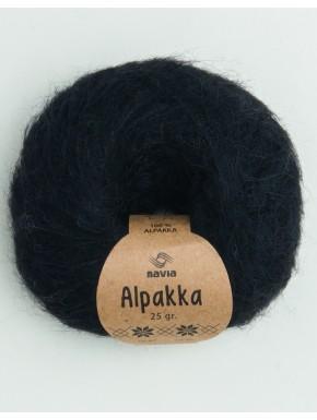 Navia Alpakka svart