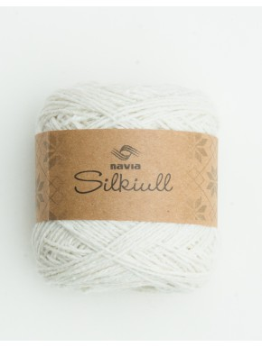 silk wool white