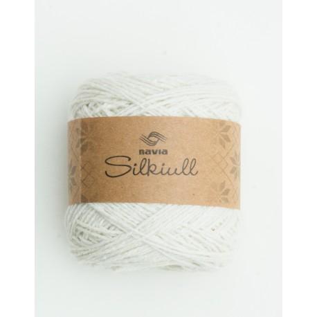 silkwool white