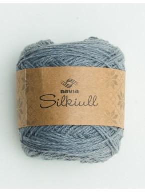 Silke uld mellemgrå