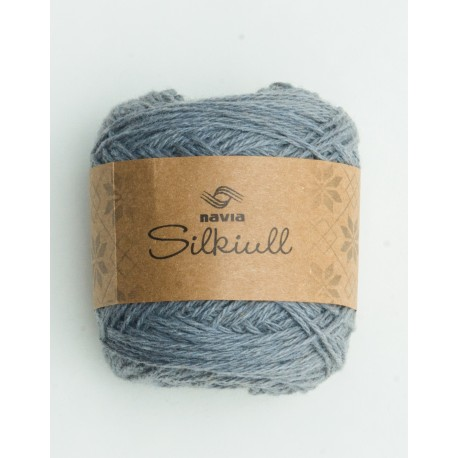 Silkwool medium grey