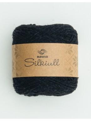 silke uld sort