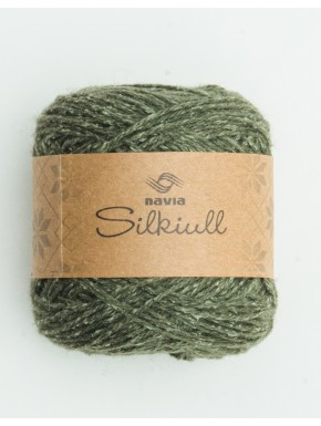 Silk Wool Nettle Green