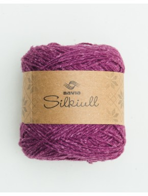 Silk Wool Plum