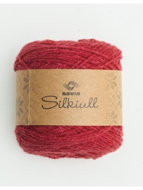 Silke uld Hindbær
