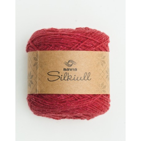 silk wool raspberry