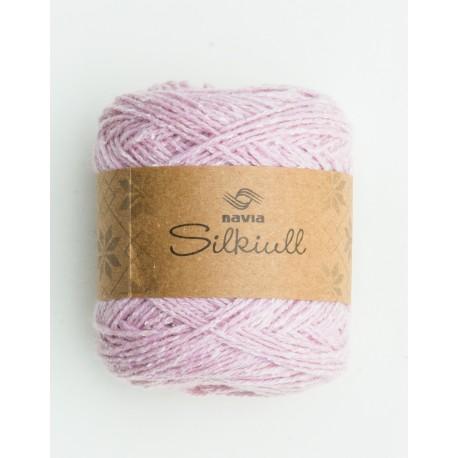 silk wool dusky pink