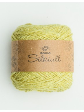 silk wool yellow