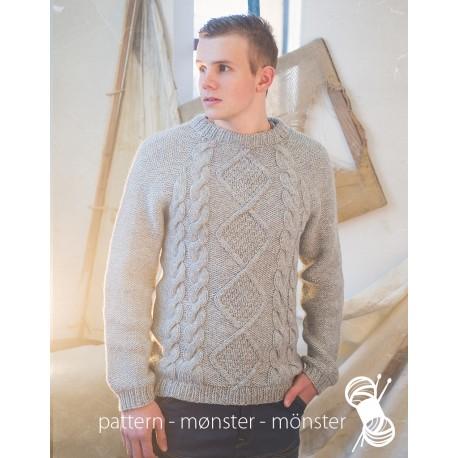 Men´s Sweater With Aran