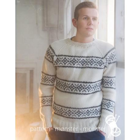 White Men´s Sweater