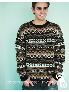 Men´s patterned jumper