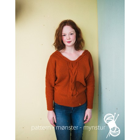 Woman´s v-necked jumper